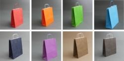 Крафт пакеты цветные