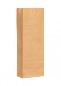 Крафт пакет 21х7х4 см + фольга