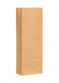 Крафт пакет 22,5х8х5 см + п/э слой
