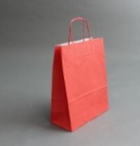 Пакет 32х25х11 см, красный
