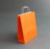 Пакет 32х25х11 см, оранжевый