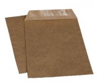 Крафт конверт-пакет С4 229х324, с водяным клеем