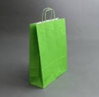 Пакет 32х25х11 см, зеленый