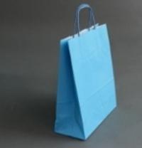 Пакет 32х25х11 см, голубой