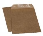 Крафт конверт-пакет С5 162х229, с водяным клеем