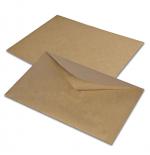 Крафт конверт С5 - 162х229 мм, с водяным клеем